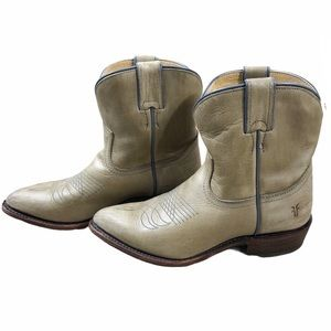FRYE Billy Short Western leather Boots size 7